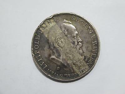 1911 D Germany 5 Funf Mark Deutsches Reich Silver Coin Old World Collection Lot