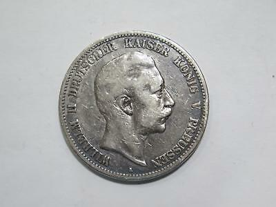 1902 A Germany 5 Funf Mark Deutsches Reich Silver Coin Old World Collection Lot