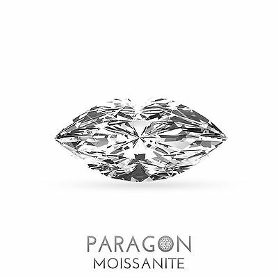 Paragon Moissanite Loose Marquise Cut Best Diamond + C&C, Alternative - Buy Now!