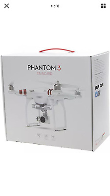 *NEW* DJI Phantom 3 Standard Quadcopter Drone Fly Flying 2.7K HD Camcorder Air
