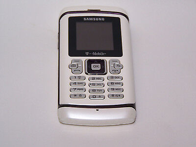 Samsung Comeback T559 keyboard Cell Phone (T-Mobile) White/Purple