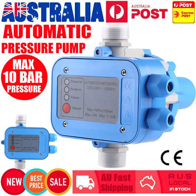 Automatic Pressure Switch Control Unit Electronic Water Pump Controller Tool AU