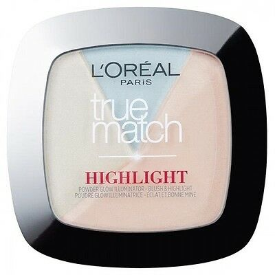 L'Oreal Paris True Match 2 in 1 Powder Glow Illuminator Icy Glow 302R/302C
