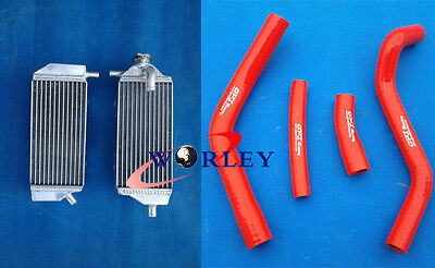 L&R ALUMINUM RADIATOR YAMAHA YAMAHA YZ250F YZF250 2014 2015 14 15 and red hoses
