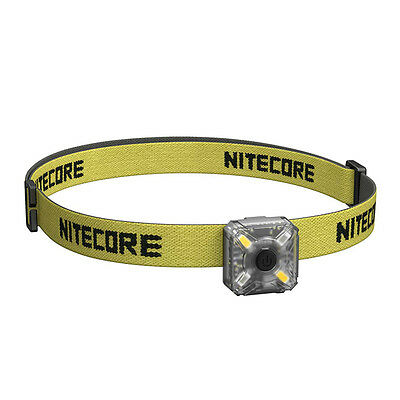 Nitecore NU05 LED Red & White LED USB Rechargeable Handlamp Headlight - Kit