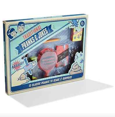 Practical Pranks and Jokes Set Prankster Whoopee Cushion Slimy Worm Fake Dog Poo