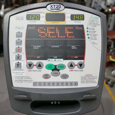 USED Sports Art X T20 Bike Console (Commercial Gym Equipment)