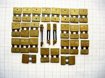 Lot 27 lames suspension pendule clock  Brocot carillon Morez horloge no odo 1