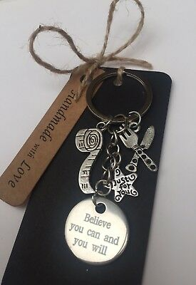 Weight Loss Motivation Keyring Keychain Slimming World • Weight Watchers • Gift