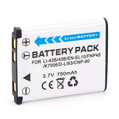 NP-45 NP45 battery for Fuji Fujifilm camera FinePix XP30 XP50 XP11 Z35 Z90 Z115
