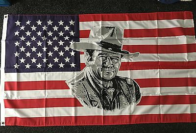 John Wayne CSA Flag Dixie Rockabilly 1861 Line Barn Dance Cowboys & Indians bnip