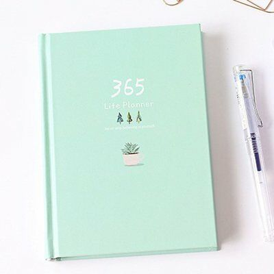 365 Days Personal Diary Planner Notebook Weekly Schedule Innovative Stationery T