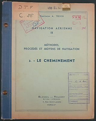 Navigation Aerienne - Le Cheminement - Blondel Rougery - Aeronautique