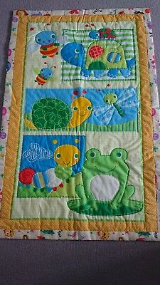 Hand Made Infant Quilt Play Mat