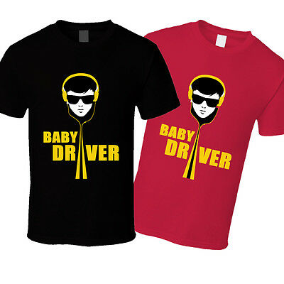 BABY DRIVER T SHIRT All you need is one killer track movie 2017 bell bottoms tee