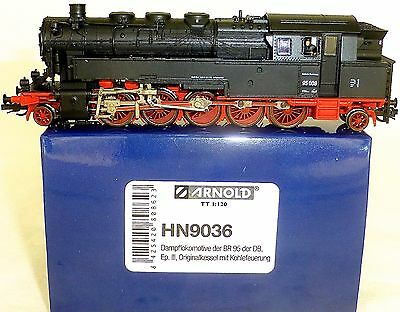 BR 95 008 Steam Locomotive DB EP3 originalkessel Arnold hn9036 TT 1:120 NIP µ