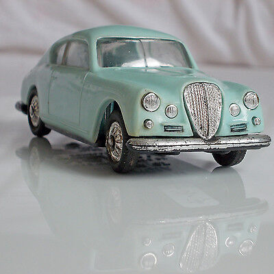 Original Altes Plastik Norev # 22  Lancia Aurelia G.t  In 1:43 Made In France