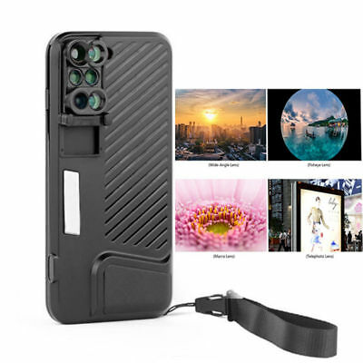 NEW Brand Switch 6 Kit 6in1 Dual Optics Lens System Case for iPhone 7 Plus