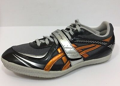 Asics Turbo High Jump Sneakers Shoes GN 804 Mens 8.5 Spikes Key Included