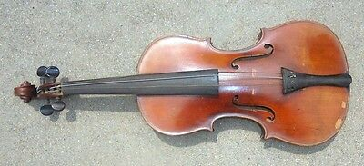 antique  full size  violin handmade in Germany label