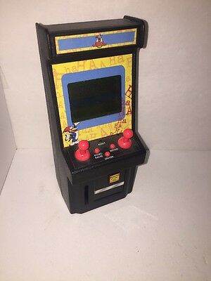 Arcade Classics Woody Woodpecker miniature arcade Video Game Toy WORKS