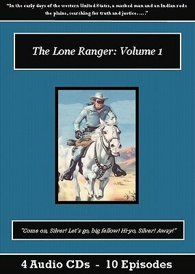 The Lone Ranger Old Time Radio Show CD Set - Volumes 1-4