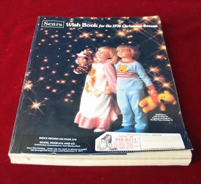 Vintage 1976 Sears Roebuck & Company Christmas Wishbook Catalog
