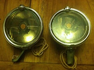 NOS Trippe Safety Light SPEEDLIGHT Top brackets and wrench Packard Buick LaSalle