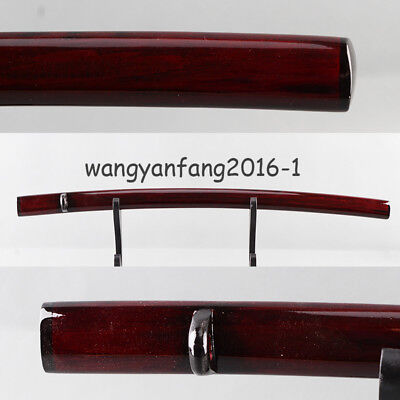 New arrival Dark red Log Wood saya for japanese katana samurai sword