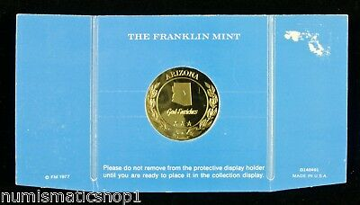 RARE! Arizona Medal – Franklin Mint Treasures of the States of the Union