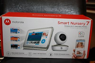 Genuine Motorola Smart Nursery 7 inch Baby Monitor - MBP877CNCT Brand New