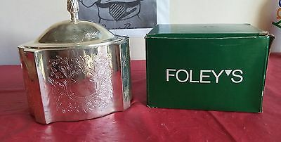 Vintage SilverPlated Biscuit Barrel by International Silver CO.