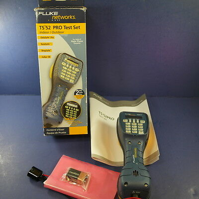 Brand New Fluke TS52 Pro Test Set with 346A Plug, Original Box