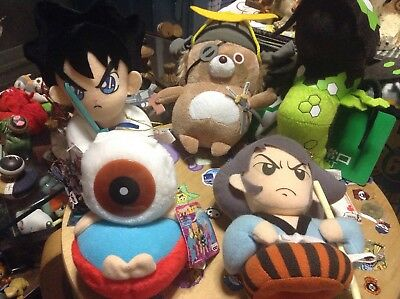 Anime  Plush figure collection of 5.Japan anime manga RARE