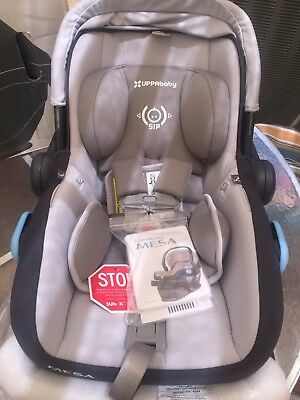 UPPAbaby MESA Infant Car Seat - 0225-PAS 2016 - Pascal Grey w/ Rain Cover!