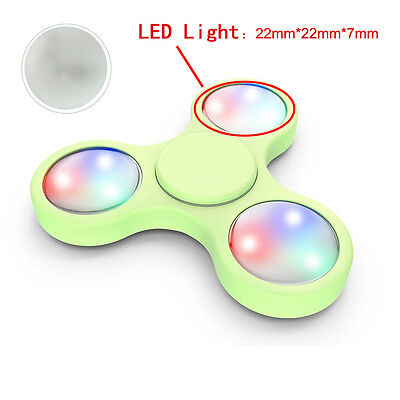 3PCS LED Light For Fidget Hand Spinner Torqbar Finger Toy EDC Focus Gyro Gift