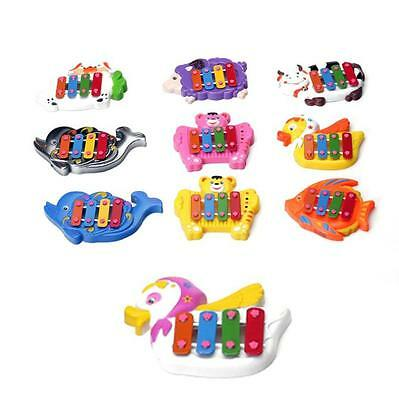 Kids Baby Musical Educational Animal Developmental Music Bell Toy 4 Tone Dolls