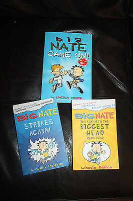 As New - 3 Big Nate series book by Lincoln Peirce
