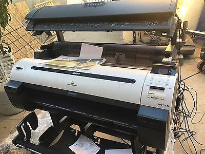 Colortrac M40 scanner with controller and canon IPF765 plotter perfect!