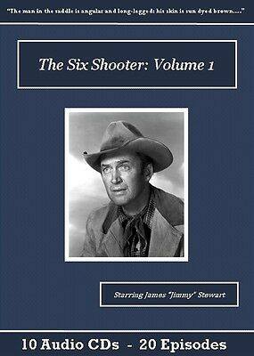 The Six Shooter Old Time Radio Show CD Set - Volume 1
