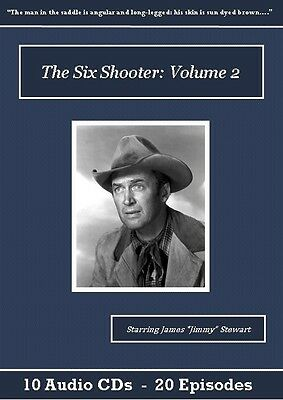 The Six Shooter Old Time Radio Show CD Set - Volume 2