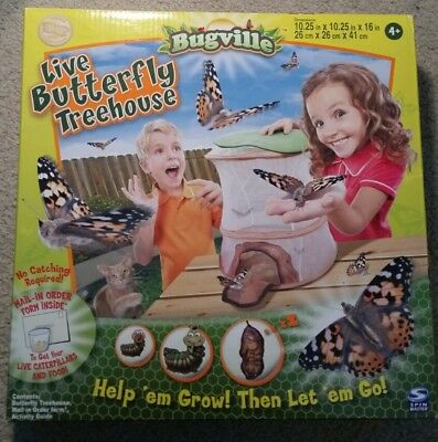 Spin Master Bugville Butterfly Tree House, New