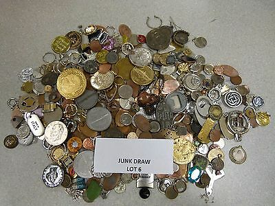 Junk Drawer Coins, Jewelry and Trinkets --- #6