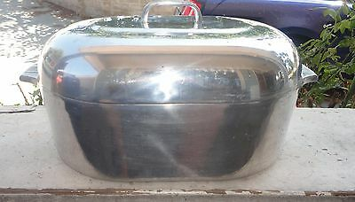 Wagner Ware Sidney 0 Magnalite 4269 Turkey Roaster Pan Dutch Oven Pot roasting