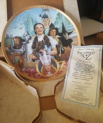 """Wizard of Oz Plate """"50 Years of Oz"""""""