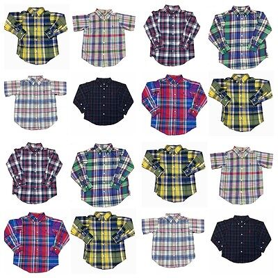 Ralph Lauren Infant - Baby - Boys Shirts 'FINAL REDUCTION'