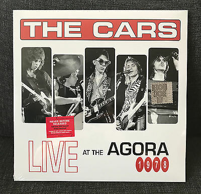 THE CARS Live at The Agora, 1978 2LP SEALED Record Store Day