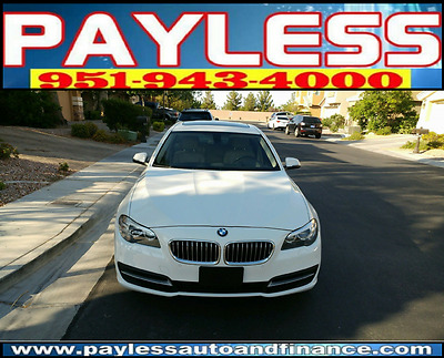 2014 BMW 5-Series Luxury Sedan 4-Door 2014 BMW 535i Luxury Sedan 4-Door 3.0L