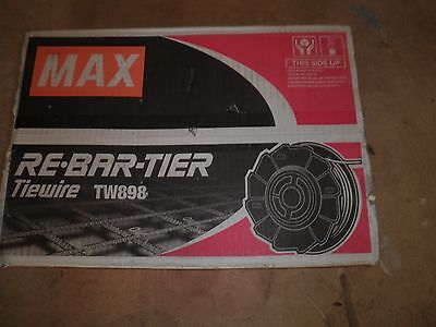 Re Bar  Tier Max Tie-wire TW 898 21 GA 50 Coils for RB 392 RB 395 RB 397 RB 398