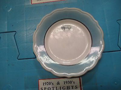 Collectible Vintage Plate Greyhound Post House